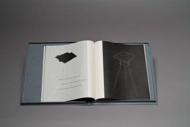 RIGHI François - Le miroir volatil n° 39 / 66, livre d'artiste