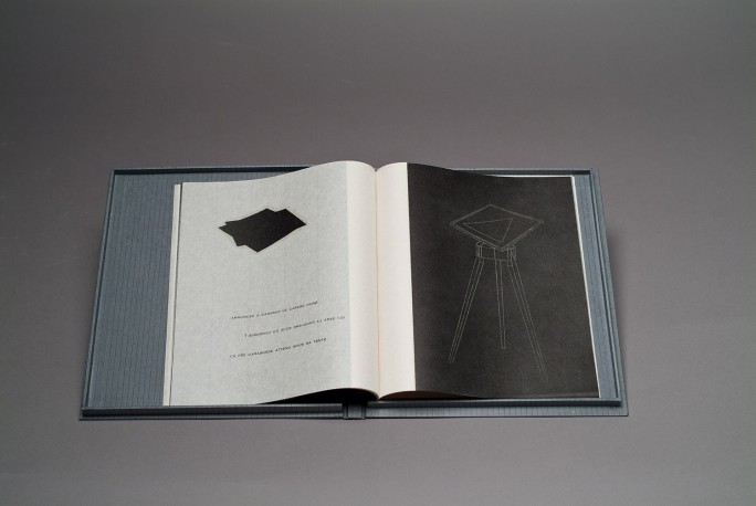 RIGHI François - Le miroir volatil n° 39 / 66, livre d'artiste - RIGHI_FRANOIS_120