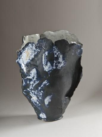 Vase nuit étoilée - PENICAUD_BRIGITTE_469
