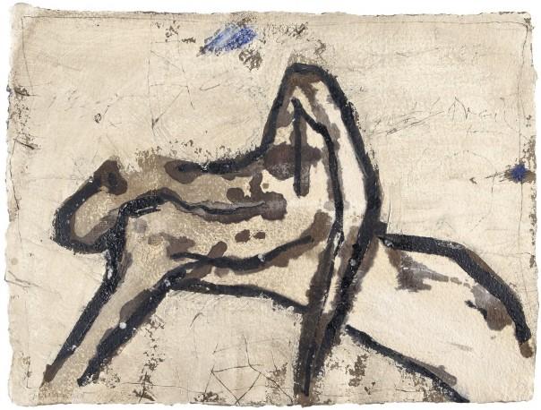COIGNARD James - Repos et bleu, réf n°640 - COIGNARD_JAMES_189