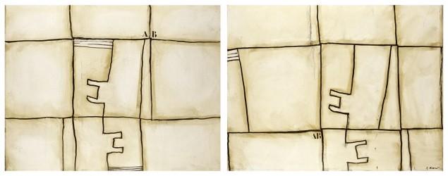 COIGNARD James - Inversement I et II, diptyque