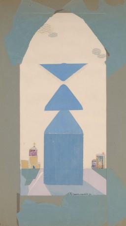 Silhouette bleue - PHILIBERT-CHARRIN_683