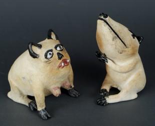 Petit chien et petite chienne