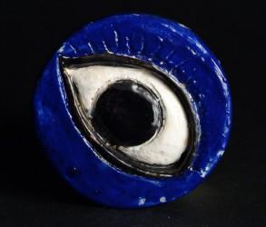 Petite pièce pour chasser le mauvais oeil - Oeil bleu