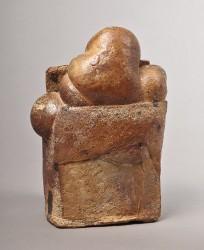 LERAT Jacqueline - Sculpture avec rondeurs
