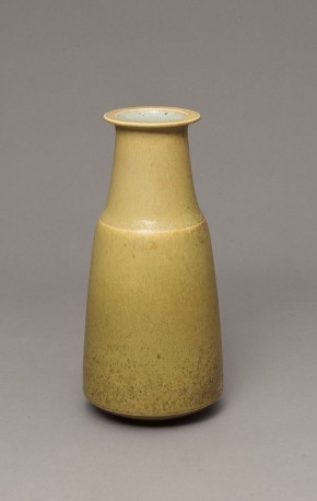 DEBLANDER Robert - Vase haut tilleul col méplat - DEBLANDER_ROBERT_242