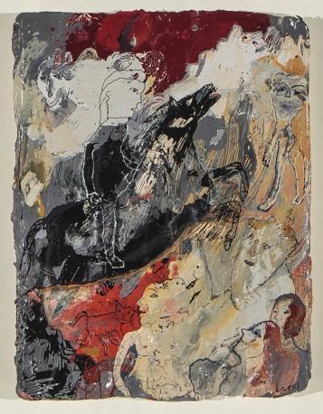 Cavalier au cheval noir - Héroïque - LARUS_ELIANE_275