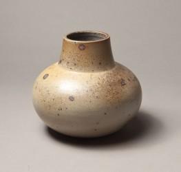 DEBLANDER Robert - Vase rond à col droit grande ouverture