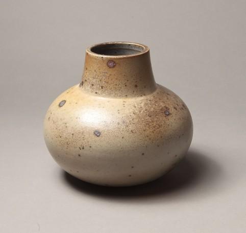 DEBLANDER Robert - Vase rond à col droit grande ouverture - DEBLANDER_ROBERT_257