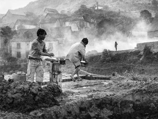 Série briques, Fianarantsoa, 2016 - n° 1/15 - MEN_PIERROT_171