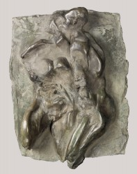 FRANTA - Etreinte, haut-relief n° 1 / 8