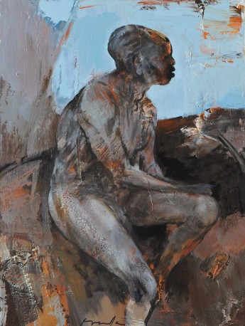 FRANTA - Homme assis - FRANTA_213