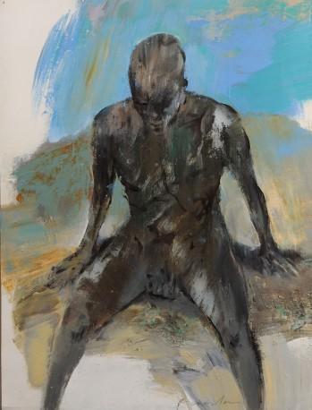 Homme assis - FRANTA_335