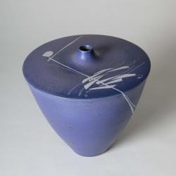 Vase refermé petit col