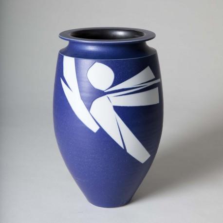Vase oblong col méplat - DEBLANDER_ROBERT_270