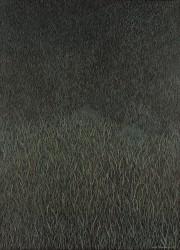 Femme dans l'herbe verte