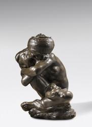 Cariatide à l'urne ou au vase (grand modèle) - EA 4/4