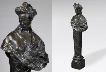 Buste de femme sur colonne, Madame Fenaille - n° 2/8