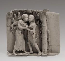 JEANCLOS Georges - Bas-relief (1986)