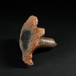 Clou rouillé rongé (enfumé) (2020)