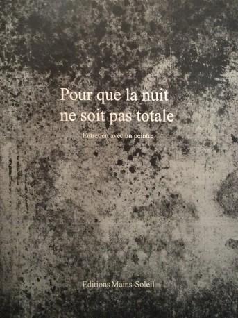 REBEYROLLE Fabrice - Pour que la nuit de soit pas totale, 2020 - ED_CAPAZZA_104