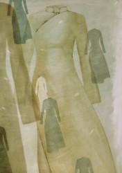 La robe traditionnelle de ma mère, Saïgon, 1953 (2014)