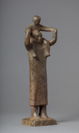 Femme enfant sur les épaules - n°1/8 - BOULLET_ALAIN_761
