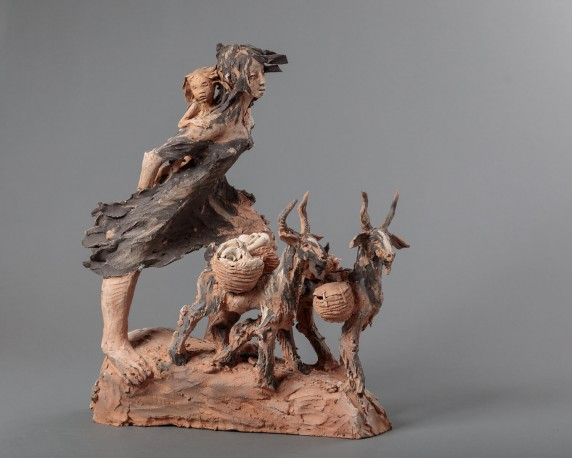 Femme aux chèvres - FERRE_FANNY_301