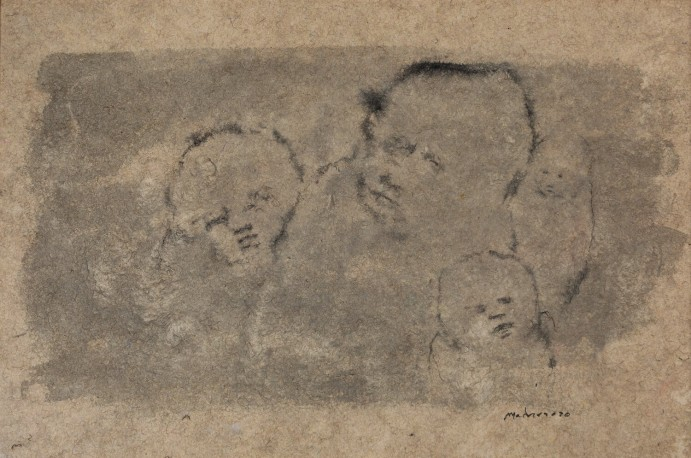 Quatre personnages (2020) - MADORE_MICHEL_200
