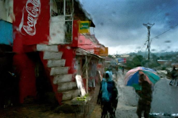 Série pluie, Fianarantsoa, Madagascar - 2008 - PIERROT_MEN_268