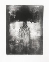 Envol de l'arbre 2.2, série Pollen - tirage unique